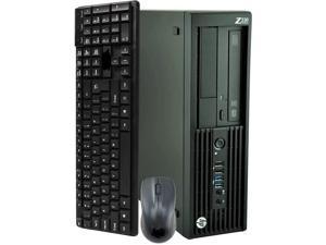 HP ProDesk Z230 SFF Computer Desktop PC, Intel Core i5 3.2GHz Processor, 16GB Ram, 128GB M.2 SSD, 1TB HDD, BTO Wireless Keyboard & Mouse, Wifi | Bluetooth, Windows 10 Pro (Renewed)