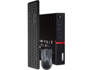 Lenovo M900 Tiny Computer Micro Tower PC, Intel Core i5 6400T Processor, 16GB DDR4 Ram, 1TB Hard Drive, BTO Wireless Keyboard & Mouse, Wifi | Bluetooth, Windows 10 Professional (Renewed)