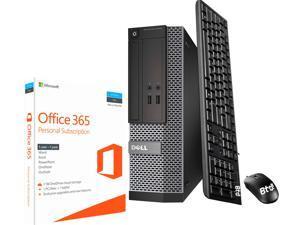 Dell OptiPlex 3020 SFF Computer Desktop PC, Intel Core i5 Processor, 16GB Ram, 120GB M.2 SSD, 2 TB HDD, BTO Keyboard & Mouse, Wi-Fi & Bluetooth, Microsoft Office 365, Win 10 Pro (Renewed)