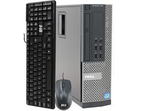 Dell OptiPlex SFF Desktop Computer, Intel Core i5 3.10GHz Processor, 16GB Ram, 240GB SSD, 1TB Hard Drive, BTO Wifi | Bluetooth, HDMI, AMD Radeon RX 550 Phoenix 2GB GDDR5, Windows 10 (Renewed)