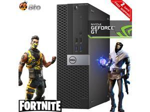 Gaming Dell 3040 SFF Computer Core i5 6th, 8GB Ram, 500GB HDD, AMD RX 550, Keyboard and Mouse, Wi-Fi, Win10 Home Desktop PC