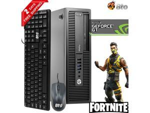 Gaming HP 600 G1 SFF Computer Core i5 4th, 16GB Ram, 1TB HDD, AMD RX 550, Keyboard and Mouse, Wi-Fi, Win10 Home Desktop PC
