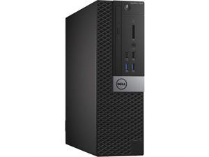 Dell Optiplex 7040 SFF (Small Form Factor) Desktop Tower PC Computer - Intel Core i7-6700, 16 GB RAM, 256 GB SSD, Windows 10 Pro