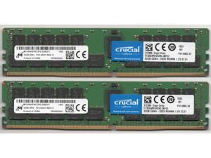 Crucial/Micron Memory Model CT32G4RFD4293 256GB 8x32GB DDR4 2933(PC4 23400) PC4-23400 ECC Registered Memory for Apple Mac Pro 2019 MacPro7,1