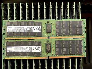 Samsung 128GB (2 x 64GB) M393A8G40AB2-CWE DDR4-3200 ECC RDIMM 2Rx4
