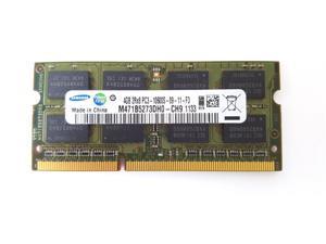 SAMSUNG 4GB 204-Pin DDR3 SO-DIMM DDR3 1333 (PC3 10600) Laptop Memory Model M471B5273DH0-CH9