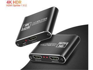 Ultra 1080P 4k 1 in 2 out HDCP Stripper 1x2 HDMI Splitter Power Signal Amplifier