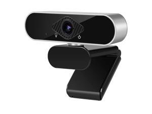 1080P HD Webcam with Microphone, easyday Web Cam USB Camera Computer Streaming Webcam for Video Calling Recording Conferencing