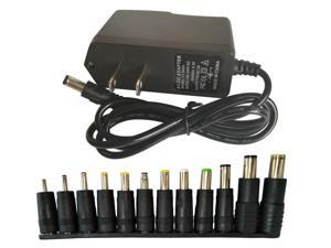 Easyday AC 100V-240V Switching Power Supply DC 5V 2A Power Adapter 2000mA US Plug 5.5x2.1mm With 12 tips DC header