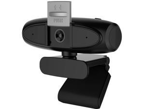 2K Webcam with Microphone and Privacy Cover, USB Computer Camera 4MP 1080P 2160P Webcam for Video Calling, Conference, Streaming