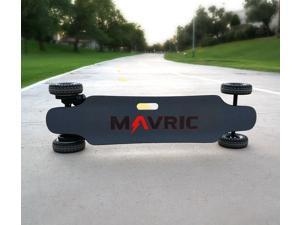 Mavric Electric Skateboard with Remote, Top Speed -28mph, 6 Months Warranty Skateboard Cruiser for Adults Teens