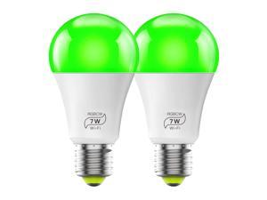MagicLight Smart Light Bulb (60w Equivalent), A19 7W Multicolor 2700k-6500k Dimmable WiFi LED Bulb, Compatible with Alexa Google Home Siri IFTTT