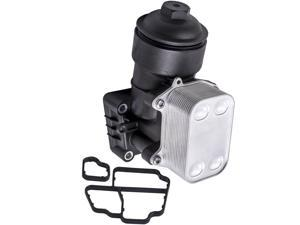 Oil Filter Housing Cap & Gasket Fits for AUDI A3 Q3 / VW / SKODA 1.6 2.0 TDI New