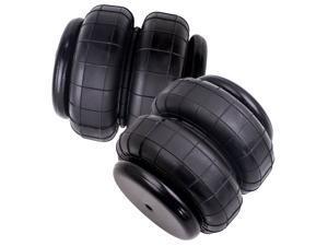 "2 Packs Standard 2500 lbs Air Shock Bellows Bag Heavy Duty 1/2"" npt Single Port"