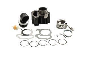 Cylinder Piston Gasket Top End Kit Set for Yamaha Raptor Badger 80 YFM80 80G 1985-2001