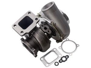 GT35 GT3582 GT3582R Universal Turbo Charger Turbocharger Anti-Surge Compressor AR.70/63 600HP, Universal Turbocharger External Wastegate T3 Flange for 3.0L-6.0L Engines Water + Oil Cooled