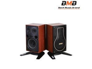 "BMB CSH-200 8"" 300W Vocal Karaoke Speakers With CSH-S200 Stands (Pair)"