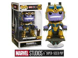 Funko Pop Marvel: Thanos on Throne Collectible Figure, Multicolor