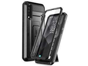 SupCase Unicorn Beetle Pro Series Phone Case for Samsung Galaxy A50/A30s, Built-in Screen Protector Full-Body Rugged Holster Case for Galaxy A50 2019 Release (Black)