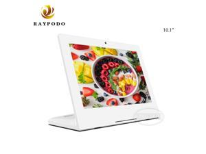 Raypodo Android 8.1 L type capacitive touchscreen tablet with RJ45 HDMI USB SD card slot