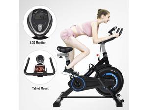 Stationary Exercise Bike Cycling Bicycle Fitness Cardio Workout Home Gym Indoor