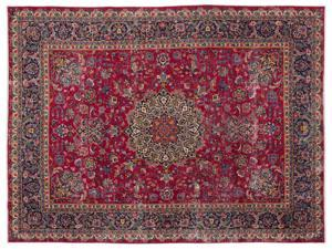 Bespoky Persian Handwoven Kilim Rug Naturel Oversized 9'11'' X 13'3'' Ft