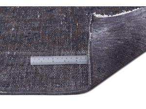 Bespoky Persian Handwoven Kilim Rug Gray Oversized 9'11'' X 13'7'' Ft