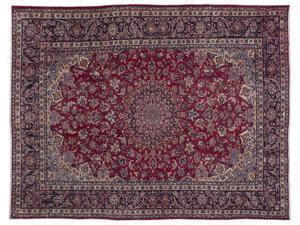 Bespoky Persian Handwoven Kilim Rug Naturel Oversized 10'0'' X 13'1'' Ft