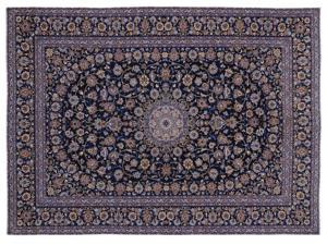 Bespoky Persian Handwoven Kilim Rug Naturel Oversized 9'10'' X 13'6'' Ft