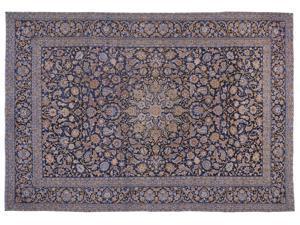 Bespoky Persian Handwoven Kilim Rug Naturel Oversized 11'2'' X 15'9'' Ft