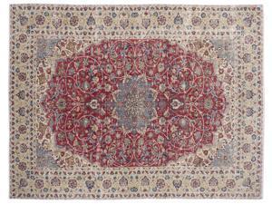 Bespoky Persian Handwoven Kilim Rug Naturel Oversized 10'1'' X 13'0'' Ft