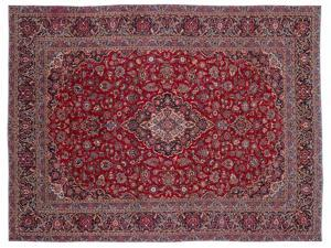 Bespoky Persian Handwoven Kilim Rug Naturel Oversized 10'2'' X 13'8'' Ft