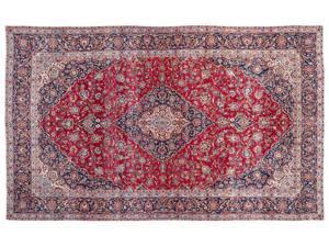 Bespoky Persian Handwoven Kilim Rug Naturel Oversized 9'10'' X 15'8'' Ft