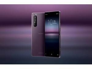 Sony Xperia 1 II (XQ-AT52) 5G Dual 256GB 8GB RAM (GSM only, No CDMA) International Version - No Warranty (Purple)