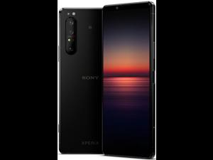 Sony Xperia 1 II (XQ-AT52) 5G Dual 256GB 8GB RAM (GSM only, No CDMA) International Version - No Warranty (Black)