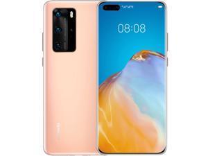 Huawei P40 Pro Dual 5G 256GB 8GB RAM No Google Play (GSM only, No CDMA) International Version - No Warranty (Blush Gold)