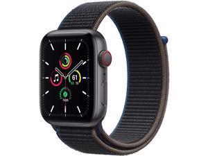 Apple Watch SE GPS & Cellular 44mm (Space Grey Aluminum Charcoal Sport Loop)