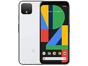 Google Pixel 4A 5G 128GB 6GB RAM Factory Unlocked (GSM Only | No CDMA - not Compatible with Verizon/Sprint) International Version - Clearly White