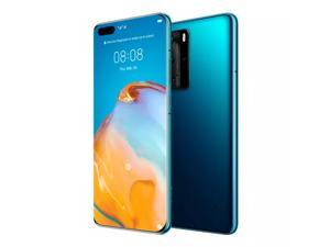 Huawei P40 Pro Dual 5G 256GB 8GB RAM No Google Play (GSM only, No CDMA) International Version - No Warranty (Deep Sea Blue)