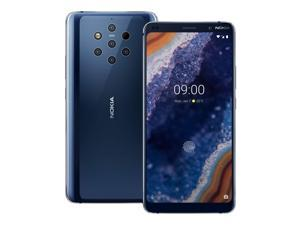 Nokia 9 Pureview 128GB GSM Unlocked Android Phone w/ 5X 12MP Cameras - Midnight Blue