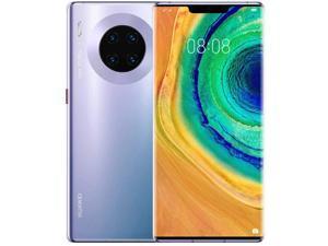 "Huawei Mate 30 6.62"" TAS-AL29/DS 128GB 8GB RAM (GSM Only, No CDMA) Factory Unlocked No Warranty - 4G LTE International Version (Space Silver)"