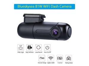 Blueskysea B1W WiFi FHD 1080P 150° Wide Angle Car Dash camera Video Recorder Car DVR