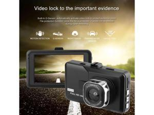Car Styling 3.0 inch LCD Dash Camera Video DVR Recorder Full 1080P HD G-Sensor Motion Detector Cycle Recording