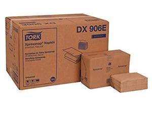 Tork DX906E Universal Xpressnap Interfold Single-Ply Dispenser Napkin, Natural