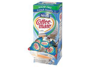 Nestle Coffee-mate Creamer Tubs, French Vanilla, Sugar-Free (50 ct.)pack of 3