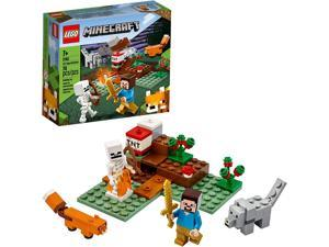 LEGO Minecraft The Taiga Adventure 21162 Brick Building Toy