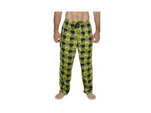 edd53aaf0e Dr. Seuss Grinch Men s Plaid Pajama ...