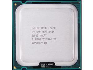 -Core 3.06GHz/2M/1066 LGA775 (E6600) Dual Core CPU