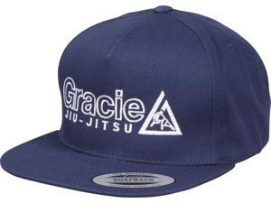 3abaef5640a Gracie Jiu Jitsu Embroidered Snapback Hat ...