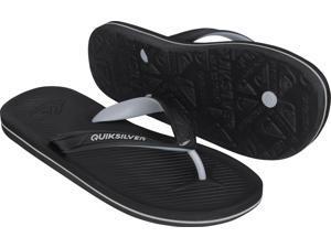 c4e070b53 Quiksilver Mens Haleiwa II Casual Beach Thong Sandals ...